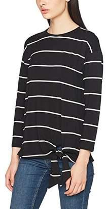 Warehouse Women's Tie Side Long Sleeve Top,6