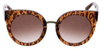 Stella McCartney Oversize Cat-Eye Sunglasses