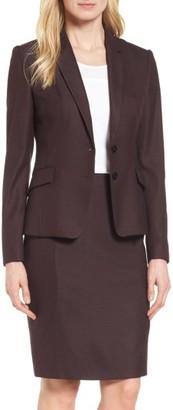 Women's Boss Jenesa Suit Jacket $625 thestylecure.com