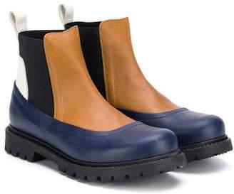 Marni TEEN panelled boots