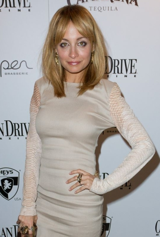House Of Harlow Two Tone Horn Stack Ring as Seen On Nicole Richie