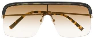 Cutler & Gross aviator shaped sunglasses