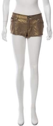 Dolce & Gabbana Linen-Blend Mini Shorts
