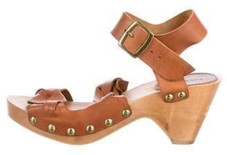 Isabel Marant Leather Platform Sandals