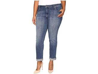 Lucky Brand Plus Size Ginger Straight in Morrison Women's Jeans