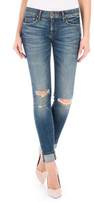 Fidelity Mila Selvedge Ankle Skinny Jeans