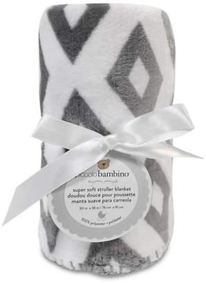 PICCOLO BAMBINO Geometric Print Stroller Blanket