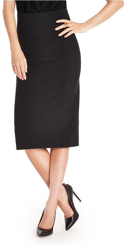 GUESS by Marciano Julie Farrow Ponte Pencil Skirt