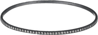 Yossi Harari Lilah White Diamond Pave Bangle