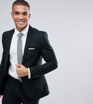 ONLY & SONS Skinny Suit Jacket In Mini Houndstooth