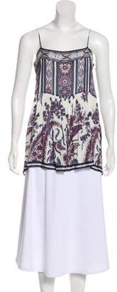 Isabel Marant Printed Sleeveless Top