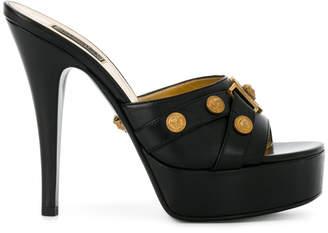 Versace platform Medusa sandals