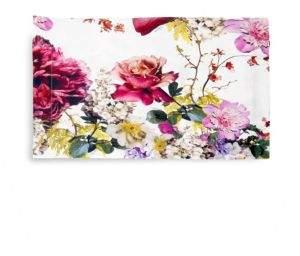 Roberto Cavalli Two-Piece Floris Printed Cotton Sateen Sham Set