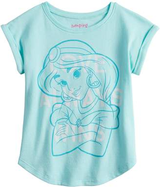 ddc6bb638 Disneyjumping Beans Disney's Aladdin Princess Jasmine Toddler Girl Graphic  Tee by Jumping Beans
