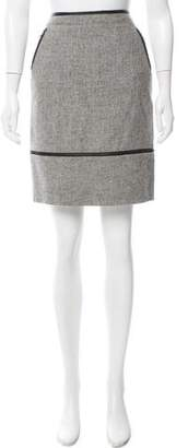 Band Of Outsiders Wool Knee-Length Skirt
