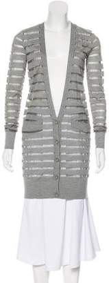 Diane von Furstenberg Long Sleeve Knit Cardigan
