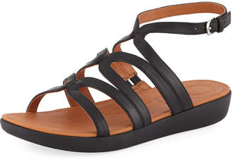 FitFlop Strata Leather Gladiator Sandals