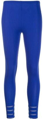 Issey Miyake Pre-Owned 2000's ribbed leggings