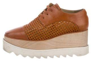 Stella McCartney Elyse Vegan Platform Oxfords