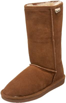 BearPaw Emma Tall Youth Boot,Hickory/Champagne