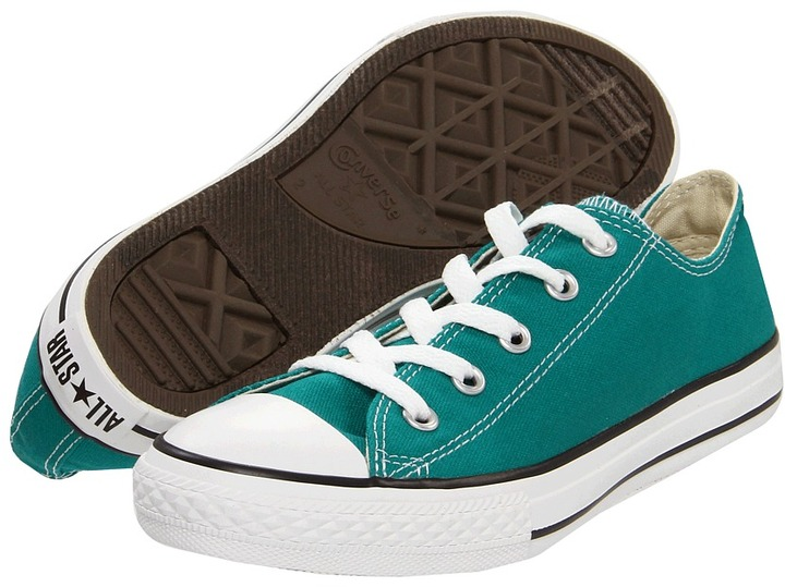 Converse Chuck Taylor All Star Specialty Ox (Little Kid) (Parasailing) - Footwear