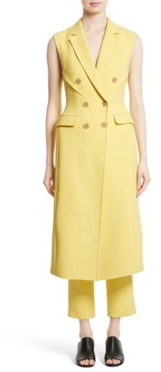 Women's 3.1 Phillip Lim Sculpted Waist Long Vest