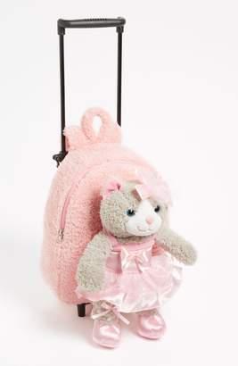 Popatu 'Ballet Kitty' Rolling Backpack