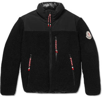 Moncler Genius - 2 1952 Brohan Reversible Fleece and Quilted Shell Down Jacket - Black