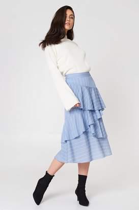 Endless Rose Pin Striped Skirt