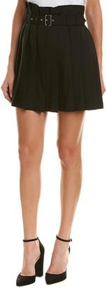 Diesel Black Gold Onally Wool-Blend Skirt