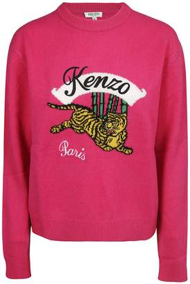 Kenzo Embroidered Tiger Sweater