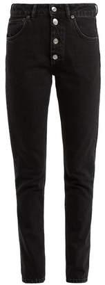 Balenciaga Tube Jeans - Womens - Black