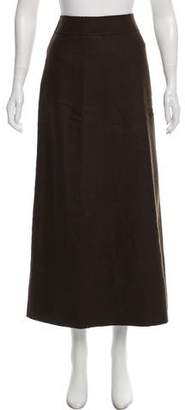 Claudie Pierlot Wool Midi Skirt