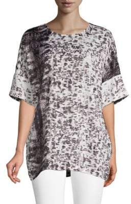 Kenneth Cole New York Dolman Printed Tunic