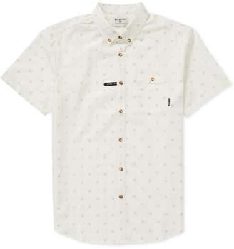 Billabong Men's All Day Geometric Jacquard Pocket Shirt