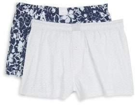 Michael Kors Two-Pack Woven Boxers