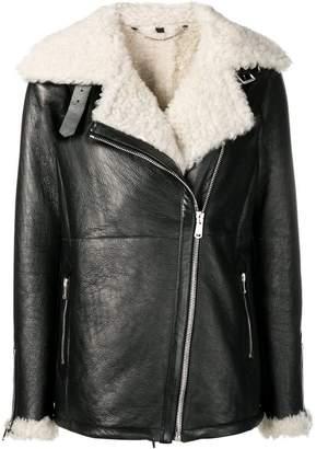 Belstaff lined biker jacket