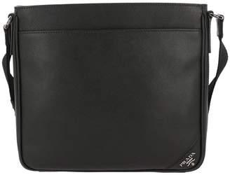8a0d9a4ff49b ... wholesale at italist prada bags large bandoliera bag in saffiano leather  with metallic cartouche logo d85e6