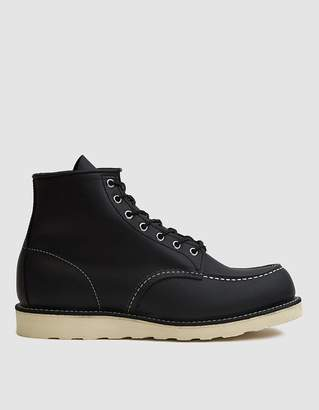 Red Wing Shoes 9075 6-Inch Moc Boot in Black Harness