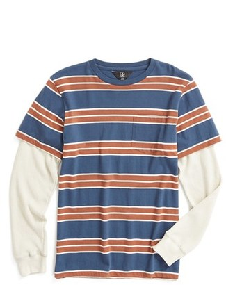 Boy's Volcom Pacific Layered Look T-Shirt $35 thestylecure.com