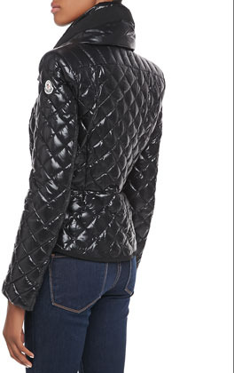 Moncler Champetre Diamond Quilted Puffer Jacket