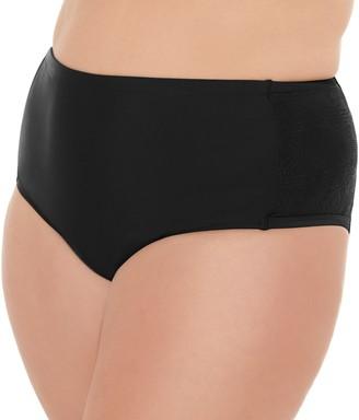 Plus Size Costa Del Sol High-Waisted Bikini Bottoms