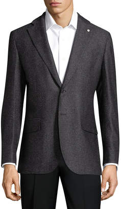 Lubiam Solid Wool Sportcoat