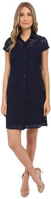 Christin Michaels Lace T-Shirt Dress Women's Dress