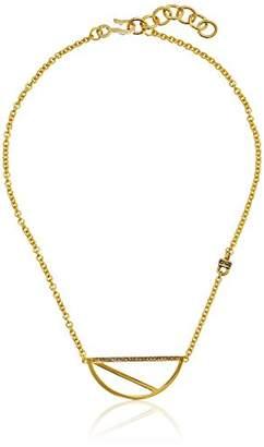 Paige Novick PHUN by Scarlett Collection Half Circle Pendant Necklace
