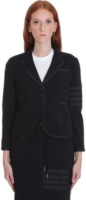 Thom Browne Dress In Black Cotton