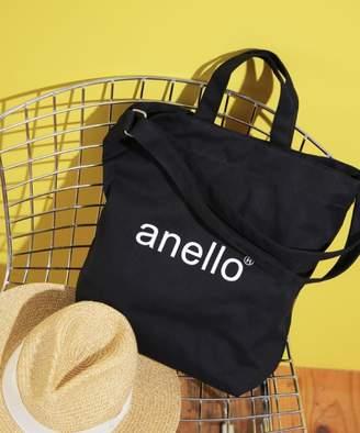 Anello (アネロ) - l'ecrin ★【anello】コットンキャンバス 2WAYトートバッグ
