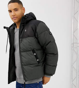 G Star G-Star Swando block hooded jacket in gray Exclusive at ASOS