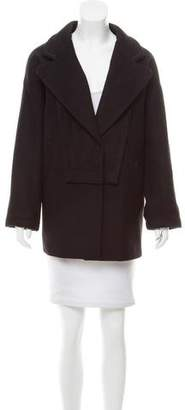 See by Chloe Wool Knee Length Coat