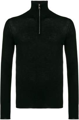 Prada half zip knitted jumper